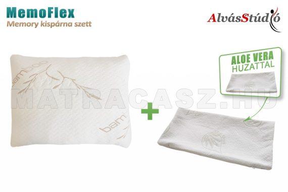 AlvásStúdió MemoFlex memory kispárna szett  - Aloe Vera huzattal