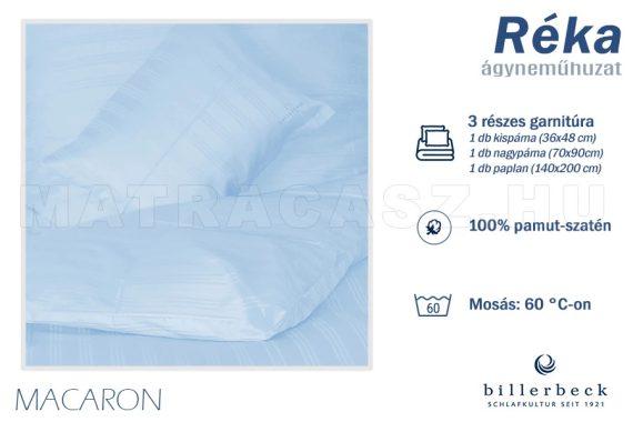 Billerbeck Réka 3 részes pamut-szatén ágyneműhuzat - Macaron