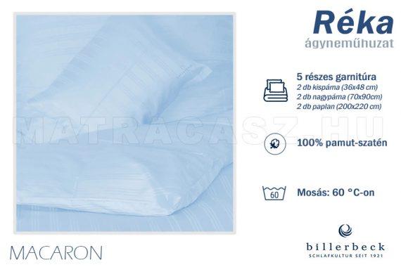 Billerbeck Réka 5 részes pamut-szatén ágyneműhuzat - Macaron