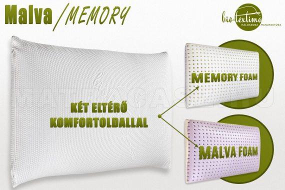 Malva-Memory párna variálható komforttal