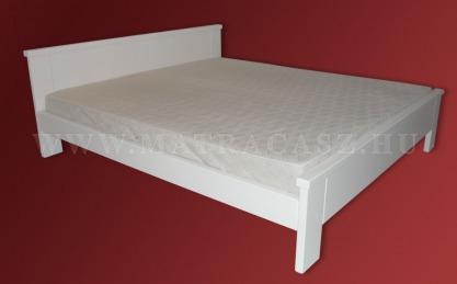 Fehérre festett ágykeretek