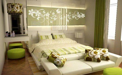 Hálószobánkban használt színek hatása