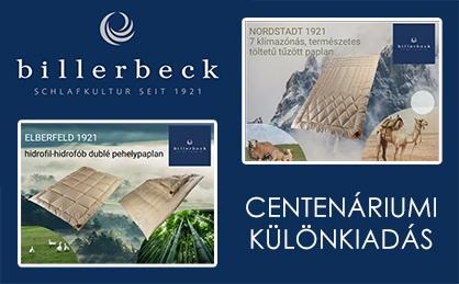 Billerbeck Centenáriumi termékek
