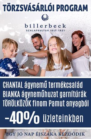 Billerbeck Törzsvásárlói Program