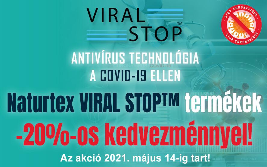 Viral Stop termékek 20% kedvezménnyel